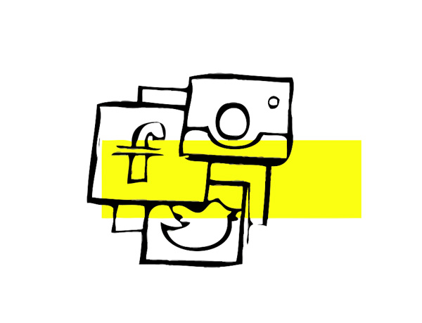Icona della voce Social Media Management | Servizi | Fabbrica delle Idee | Coworking | Maniago